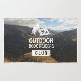 The Outdoor Book Readers Club Rug