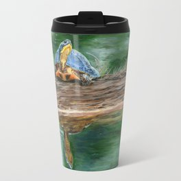 By The River by Teresa Thompson Travel Mug