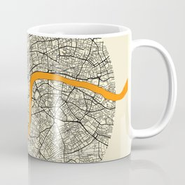 London Map Moon Coffee Mug