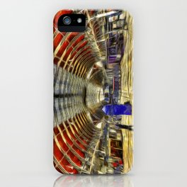 Paddington Railway Station Art iPhone Case