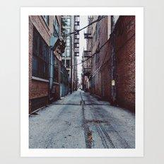 UIC Alley Art Print