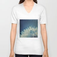 gem V-neck T-shirts featuring hidden gem by Bonnie Jakobsen-Martin