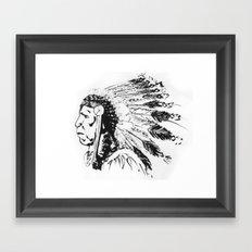 LANGUNDO Framed Art Print