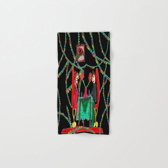 Christmas Dinner | Kids Painting Hand & Bath Towel
