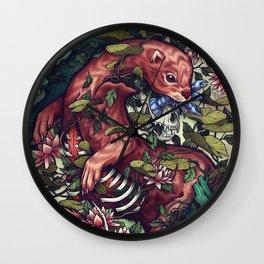 Momento Mori Wall Clock