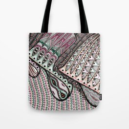 vibes & distortions / the game of life Tote Bag
