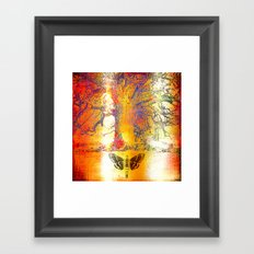The mystic tree Framed Art Print
