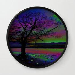 Magical Night Time Wall Clock