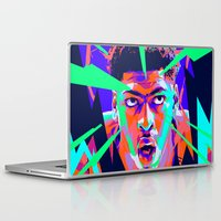 nba Laptop & iPad Skins featuring Anthony Davis Nba illu V3 by mergedvisible