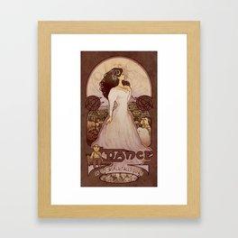 As the World Falls Down Framed Art Print