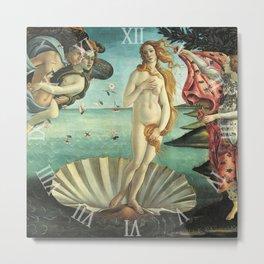 Timepiece - The Birth of Venus Metal Print