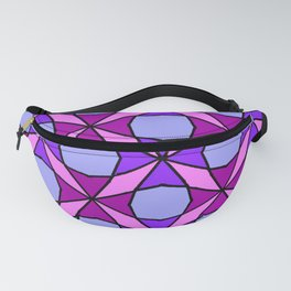 Octagon Flower Leaf Tomatoes Quilt Pattern Fanny Pack