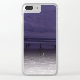 RI BEACH Clear iPhone Case