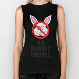 No Rabbit People Biker Tank