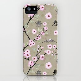 Japanese Spring iPhone Case