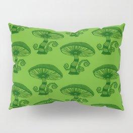 """""""Mushrooms in the Garden"""" Alice in Wonderland Style Design by Dark Decors Pillow Sham"""