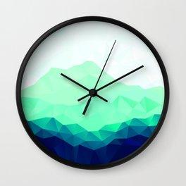 Fiona Mountain Wall Clock
