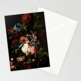 "Ernst Stuven ""Still life of flowers"" Stationery Cards"