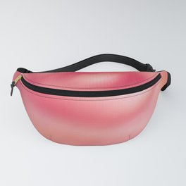 Pink blurred roses Fanny Pack