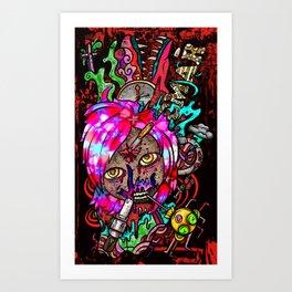Forming Death Art Print