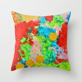 Bees Knees Throw Pillow