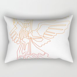 Berlin Angel Single Line Rectangular Pillow