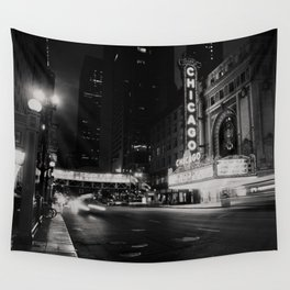 Chicago Theatre ... Wall Tapestry