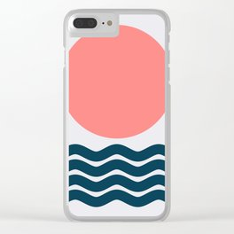 Geometric Form No.9 Clear iPhone Case