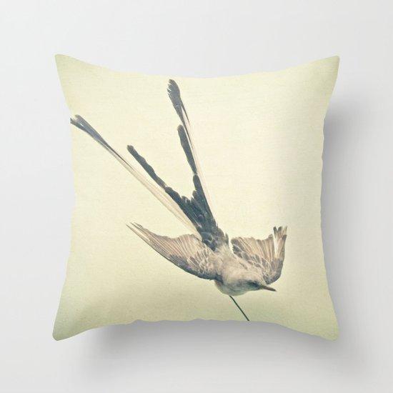 Bird Study #1 Throw Pillow