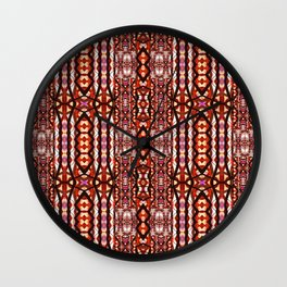 Stained Glass III Wall Clock