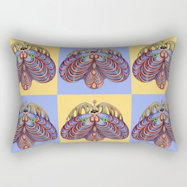 moth of darkness (original sold). Rectangular Pillow