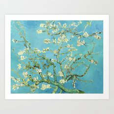 Vincent Van Gogh Almond Blossoms Art Print