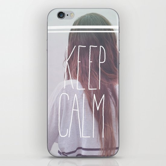 Wander (Keep Calm) iPhone & iPod Skin