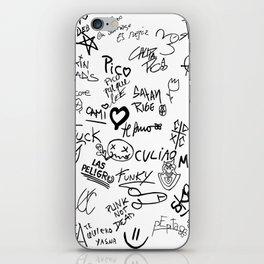 Graffitis iPhone Skin
