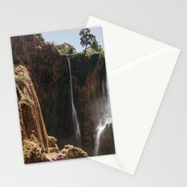 Ouzoud Waterfall Morocco Stationery Cards