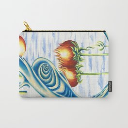 Poppie Flowers Carry-All Pouch