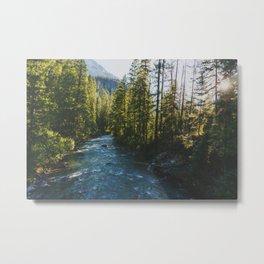 Morning at Agnes Creek - Pacific Crest Trail, Washington Metal Print