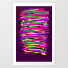 xfgdfg Art Print