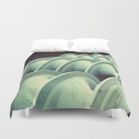 industrial Duvet Covers featuring industrial by HD Connelly