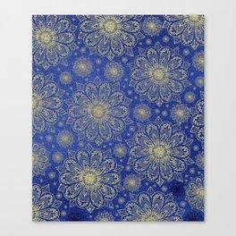 Midnight Mandala Canvas Print