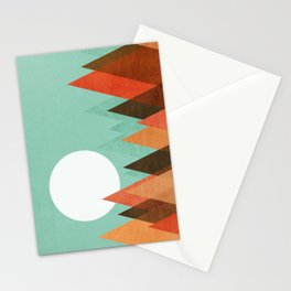 From the edge of the mountains Stationery Cards