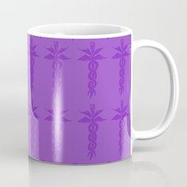 Medical ID Print (Purple) Coffee Mug