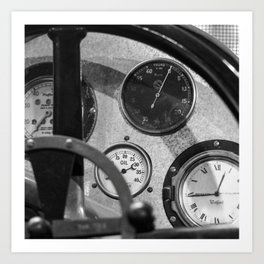 Vintage Car 6 Art Print