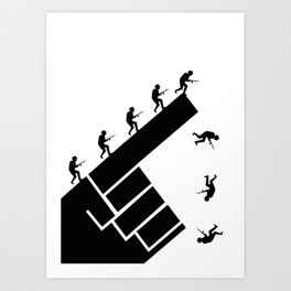 To the arms! Art Print