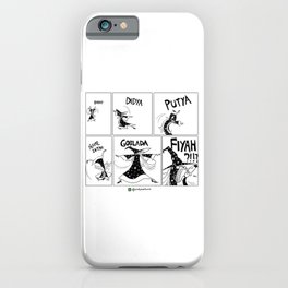 Goblada Fiyah iPhone Case