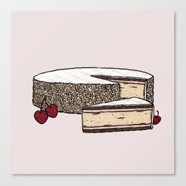 Z is for Zuger Kirschtorte Canvas Print