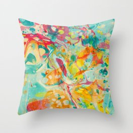 Abstract Painting ; Calliope Throw Pillow