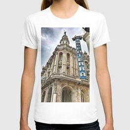 Hotel Inglaterra Street Corner, Havana, Cuba T-shirt