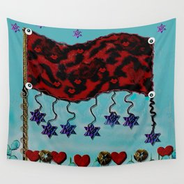 Happy Day Flag Wall Tapestry