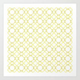 Graphic Art Pattern-P1-C5 Art Print